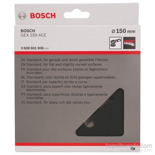 Bosch - Zımpara Tabanı - Orta Sertlik, 150 Mm
