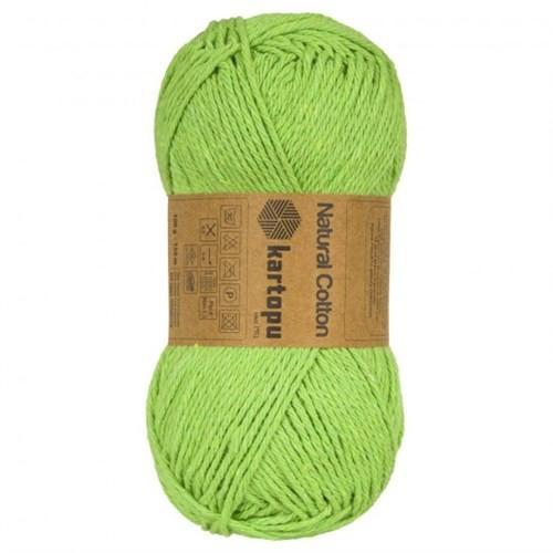 Kartopu Natural Cotton Yeşil Bebek Yünü - 2122M
