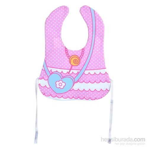 Baby&Me Elbise Desenli Mama Önlüğü