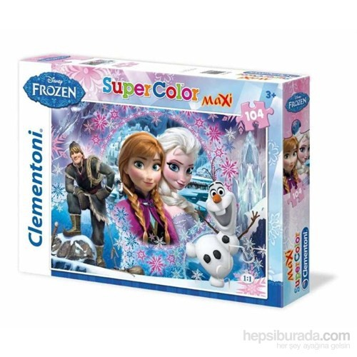 Queen Of The North Frozen (104 Parça, Maxi Puzzle)