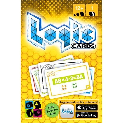 Mantık Kartları Sarı (Logic Cards Yellow) Yaş:12-99