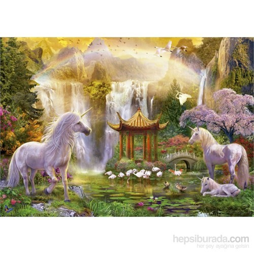 Educa 500 Parça Unicorn Valley Of The Waterfalls