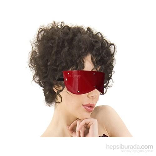 La Blinque Fantezi Deri Göz Maskesi (Kırmızı)
