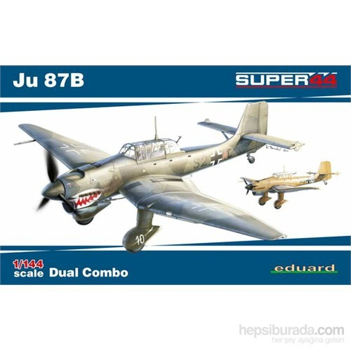 Ju 87B Dual Combo (1/44 Ölçek)