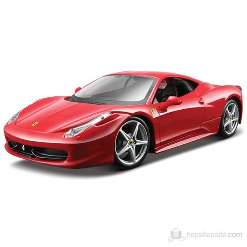 Maisto 458 İtalia 1:24 Model Araba Maket Kit Kırmızı