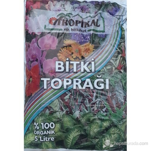 Plantistanbul Tropical Saksı Toprağı 5 Lt