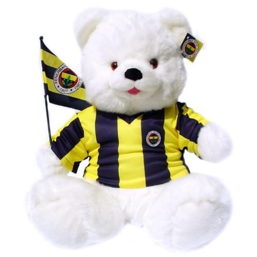 Fenerbahçe Bayraklı Cici Ayı Peluş Oyuncak