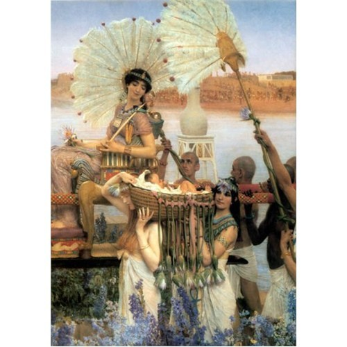 Gold Puzzle Musa'nın Bulunuşu (1000 Parça)
