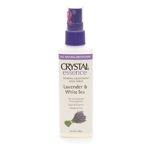Crystal Body Spray Deodorant - Lavender & White Tea