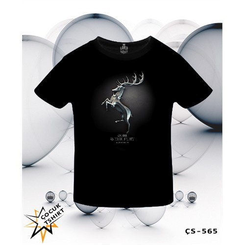 Lord T-Shirt Game Of Thrones - Baratheon T-Shirt