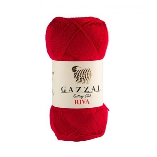 Gazzal Riva Kırmızı El Örgü İpi - 161