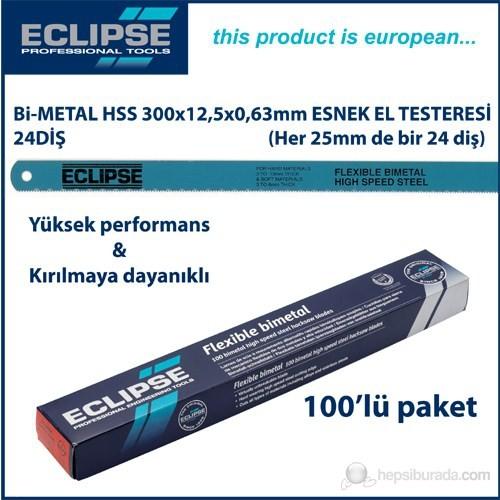 Eclipse Aa46v Bi-Metal Hss El Testeresi Yedeği 300Mm 24 Diş (100 Lü Paket)