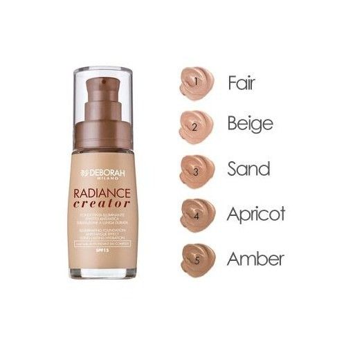 Deborah Radiance Creator Foundation Spf15 30Ml - 04 Apricot