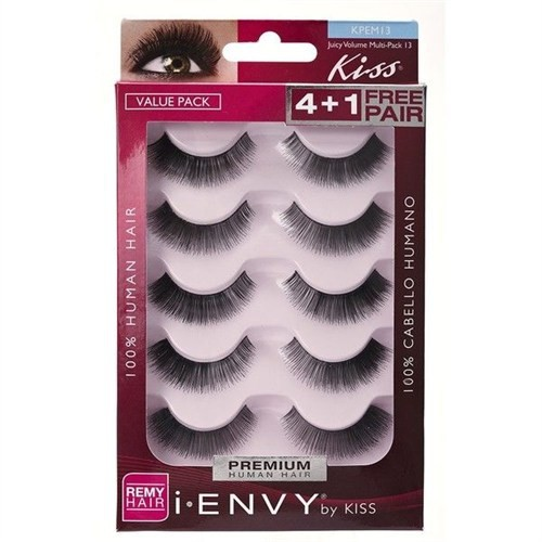 Kiss I Envy Eyelashes Juicy Volume Multi Pack 13 Takma Kirpik