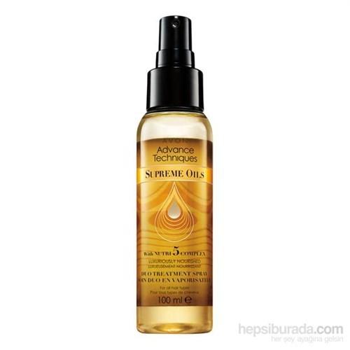 Avon Advance Techniques Supreme Oils Tüm Saç Tipleri İçin Besleyici Çift Fazlı Bakım Spreyi - 100Ml