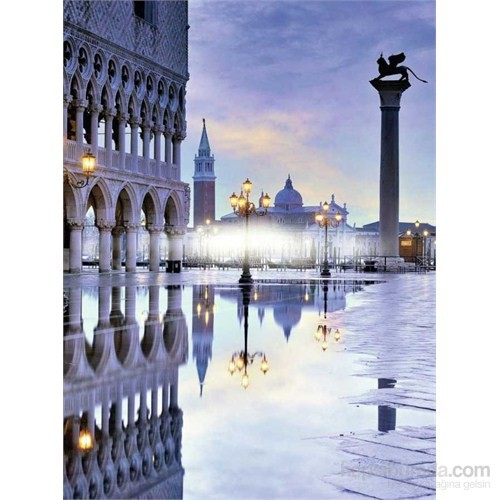 Romantik Venedik (1500 Parça Puzzle)