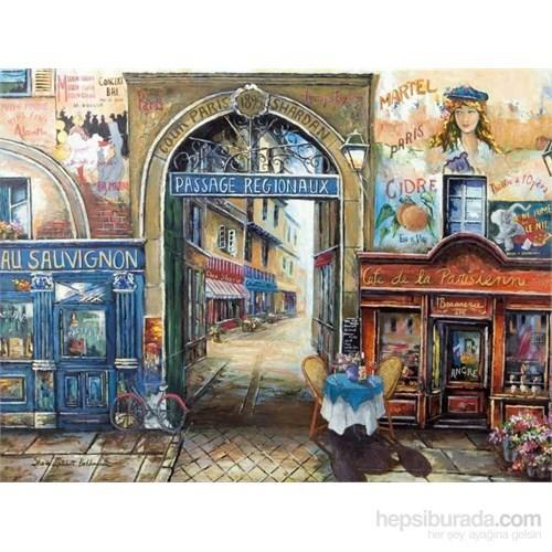 Paris'de Bir Pasaj (1500 Parça Puzzle)