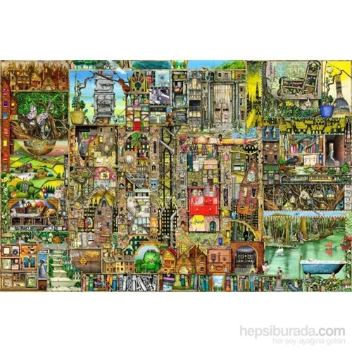 C Thompson ,Şehir (5000 Parça Puzzle)