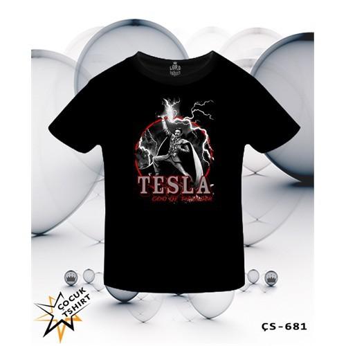 Lord T-Shirt Tesla - God Of Thunder T-Shirt