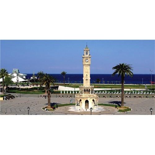 Anatolian İzmir Saat Kulesi (1500 Parça)