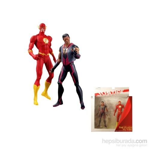 Justice League New 52 Flash Vs. Vibe 2 Pack Figure
