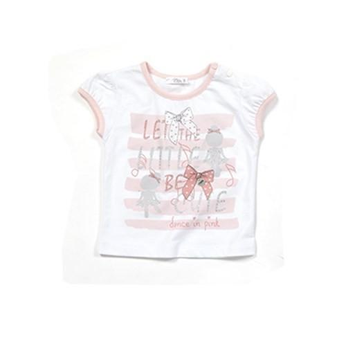 Zeyland Kız Çocuk Beyaz T-Shirt - K-61M2LJR52