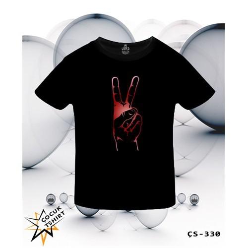 Lord T-Shirt Zafer İşareti T-Shirt