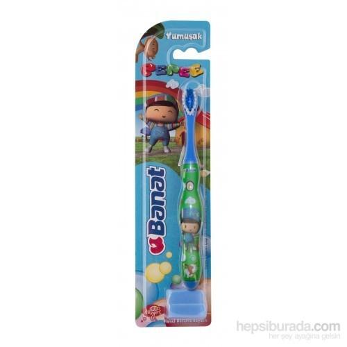Banat Çocuk Diş Fırçası Pepee - Yumuşak