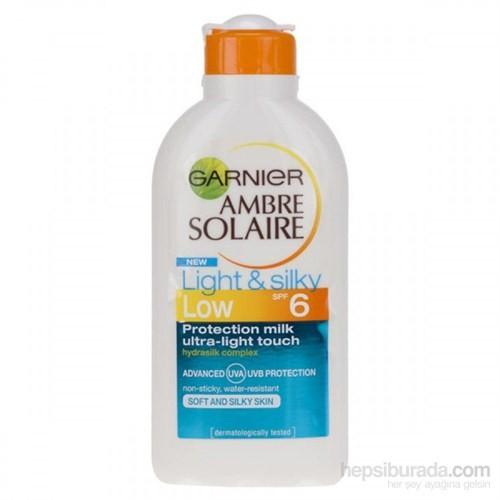 Garnier Ambre Solaire Güneş Koruyucu Süt 200Ml Gkf 6