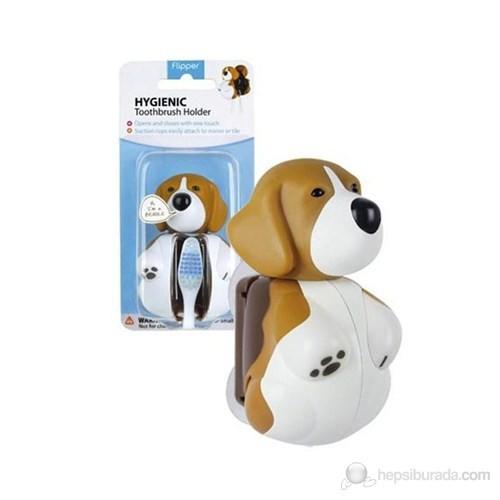 Rocs Flipper Hijyenik Diş Fırçası Kabı - Köpek