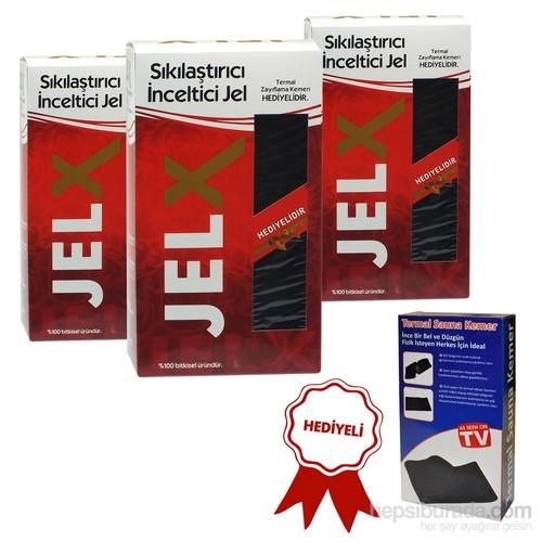 Jel-X İncelmeye ve Sıkılaştırmaya Yardımcı Jel - Üçlü ( Termal Kemer Hediyeli )