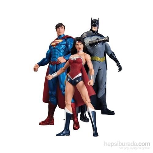 New 52 Superman Batman Wonder Woman 3'Lü Set