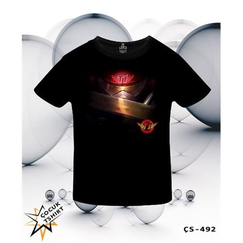 Lord T-Shirt League Of Legends - Zed Skt T1 T-Shirt