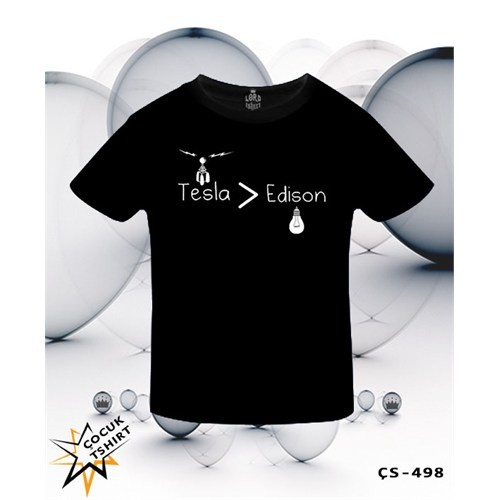 Lord T-Shirt Tesla > Edison T-Shirt