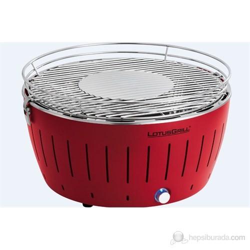Lotus Grill XL G-RO-435 Dumansız Mangal Ateş Kırmızı