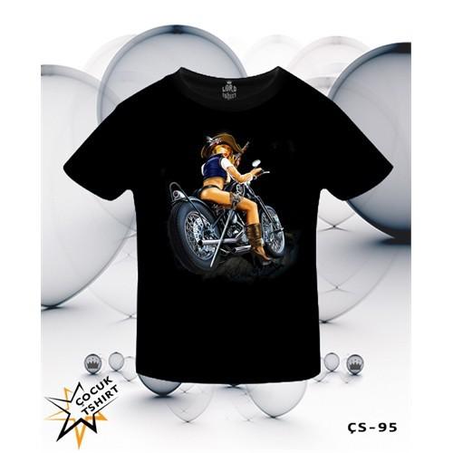 Lord T-Shirt Biker Girl T-Shirt