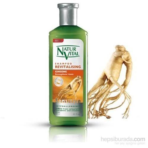 Natur Vital Ginseng Revitalising Canlandrıcı Şampuan 400 Ml İthal