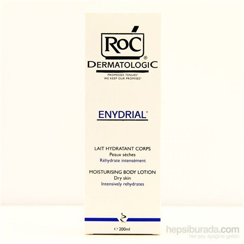 Roc Dermatologic Enydrial Lait Hydratant Corps 200 Ml