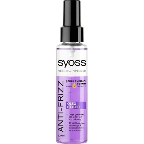 Syoss Saç Şekillendirici Serum Oleo 100 ml