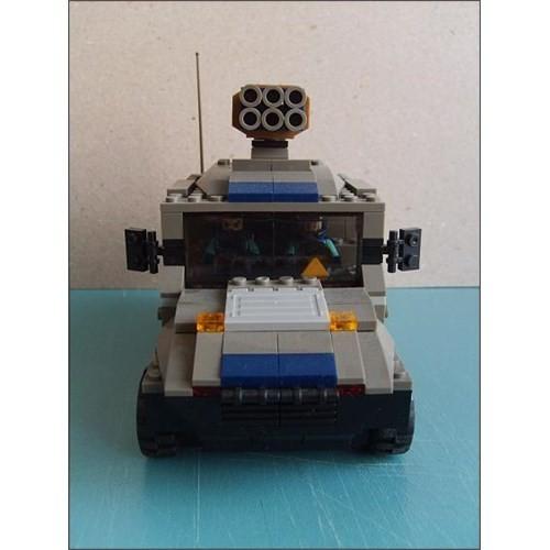 Askeri Özel Kuvvetler Jeep Lego Seti