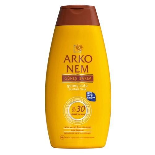 Arko Nem Güneş Bakım Güneş Sütü Spf 30 200 Ml