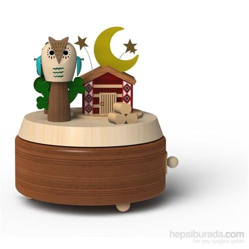 Wooderful Life Gece ve Baykuş Müzik Kutusu