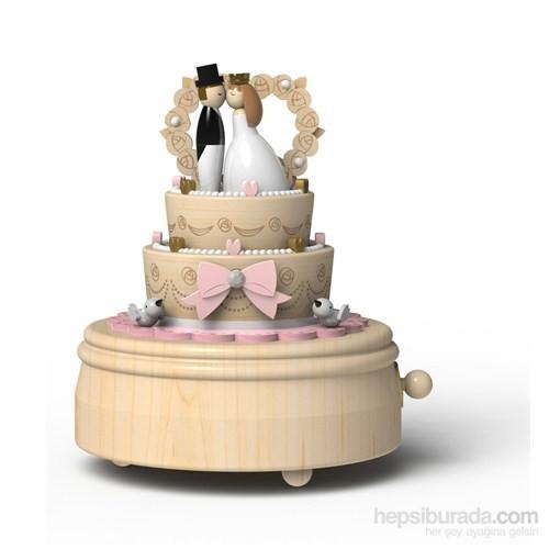 Wooderful Life Düğün Pastası Müzik Kutusu