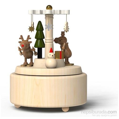 Wooderful Life Yeni Yıl Geyikleri Müzik Kutusu