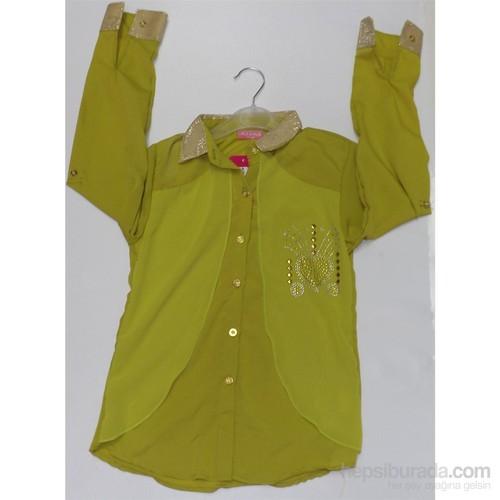 Polat Gömlek Plt 7219 Y.Yeşil