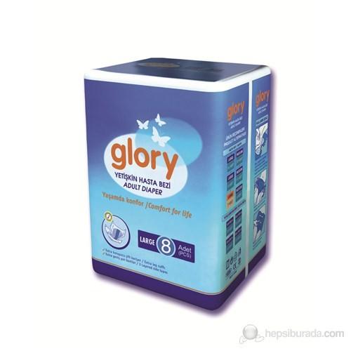 Glory Hasta Altı Bezi Large 8'li