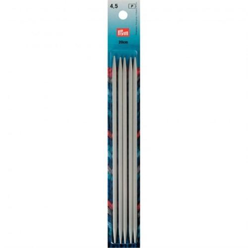 Prym 4,5 Mm 20 Cm Alüminyum 5'Li Çorap Şişi - 191493