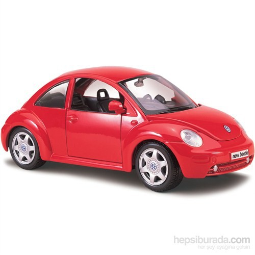 Maisto Volkswagen New Beetle Diecast Model Araba 1:24 S/E Kırmızı