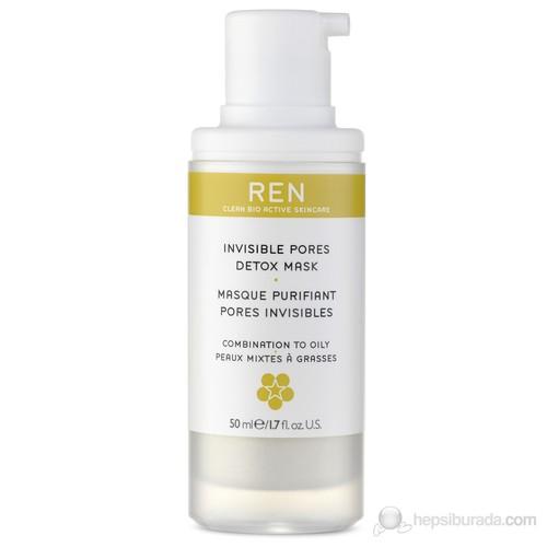 REN Invisible Pores Detox Mask - 50 Ml