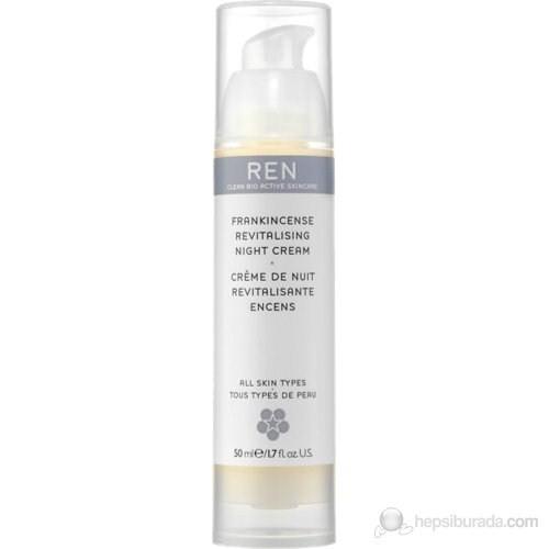 REN Frankincense Revitalising Night Cream - 50 Ml